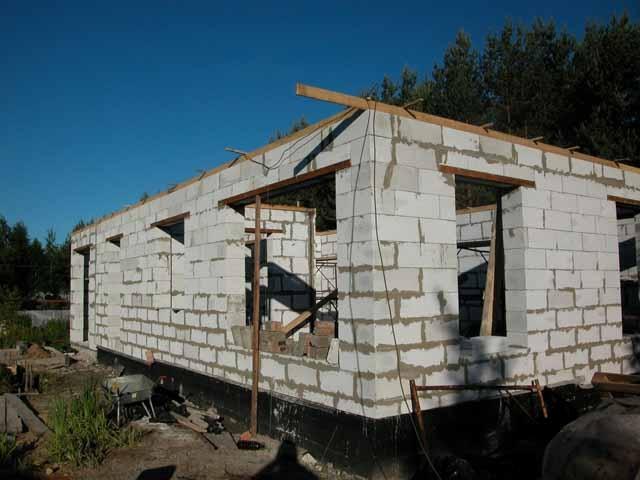 Дачный домик из пеноблоков своими руками не дорогой из пеноблоков
