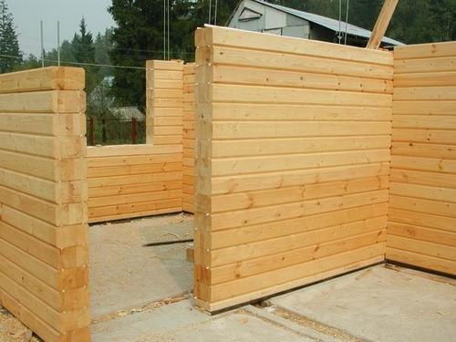 Строительство из клееного бруса дома своими руками видео