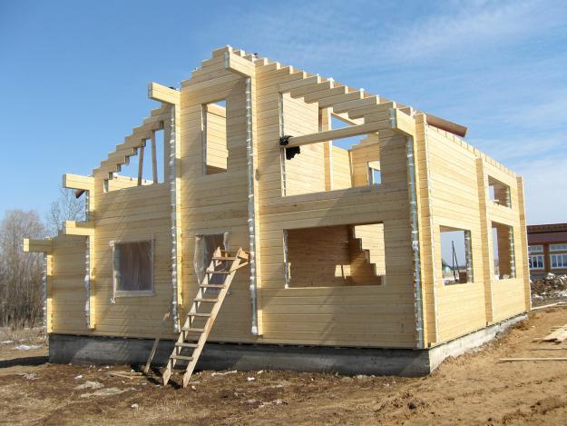 Строительство домов на материнский