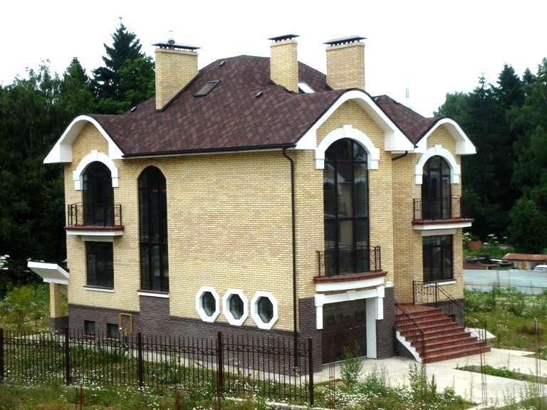 Размеры дома: 7 x 8 м Общая площадь: 112 м 2