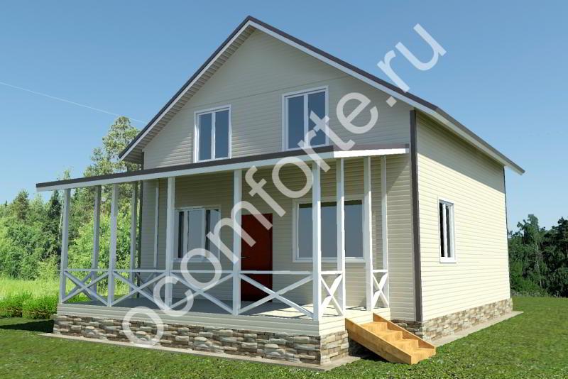 Проект дома БОРОВИК