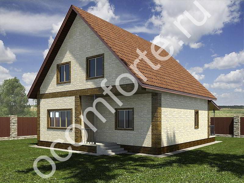 Проект дома КОМФОРТ