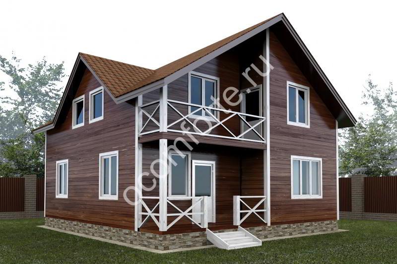 Проект дома ЛОНДОН