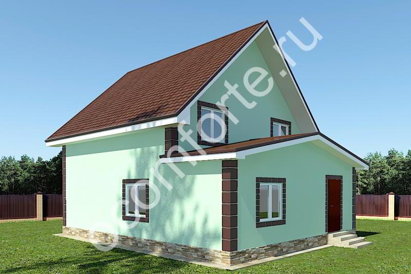 Проект дома НЕВАДА