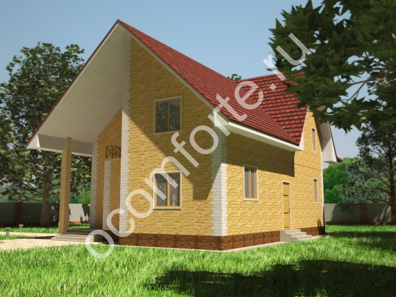 Проект дома СКАЗКА