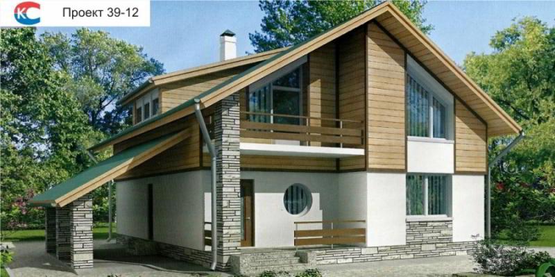 Проект дома 39-12