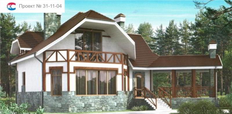Проект дома 31-11