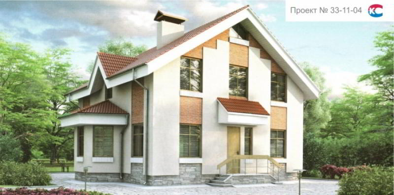 Проект дома 33-11