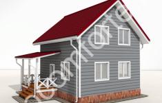 Проект дома АРСЕНЬЕВ