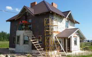 Дом из газобетона в Сырково - фото