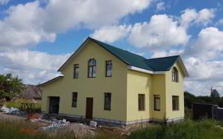 Отделка дома из газобетона по технологии мокрый фасад