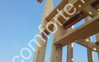 Прочные деревянные элементы каркаса