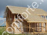 Строительство каркасного дома в деревне Коломо