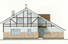 Проект дома 35-12 - 2 фасад