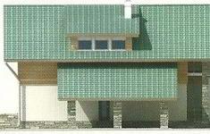 Проект дома 39-12 - 2 фасад