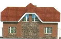 Проект дома 30-11 - 4 фасад