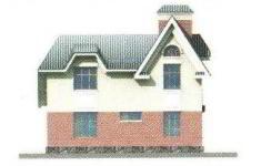Проект дома 39-11 - 3 фасад