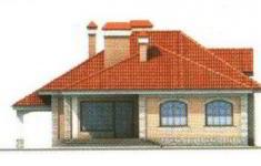 Проект дома 34-11 - 3 фасад