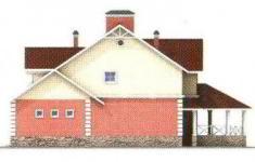 Проект дома 22-11 - 2 фасад