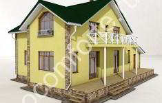 Проект дома БЕРН - 3 вид