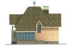 Проект дома 32-11 - 1 фасад