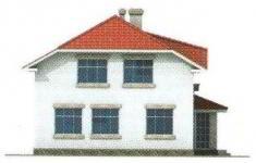 Проект дома 41-11 - 3 фасад