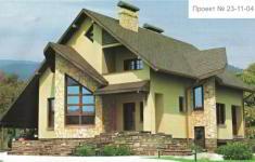Проект дома 23-11 - главный вид