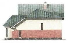 Проект дома 39-11 - 4 фасад