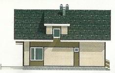 Проект дома 44-12 - 1 фасад