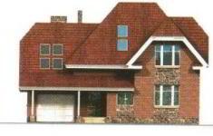 Проект дома 30-11 - 1 фасад