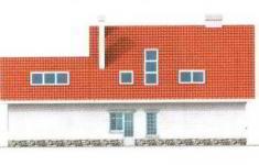 Проект дома 28-11 - 3 фасад