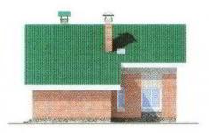 Проект дома 42-11 - 1 фасад
