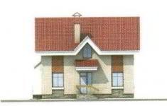 Проект дома 33-11 - 4 фасад