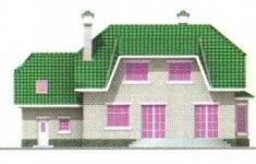 Проект дома 26-11 - 3 фасад