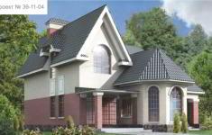 Проект дома 39-11 - главный вид
