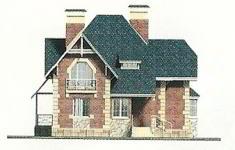 Проект дома 71-12 - 1 фасад