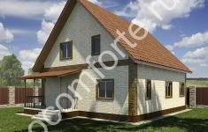 Проект дома КОМФОРТ - 2 вид