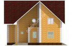 Дом СКАЗКА - 2 фасад