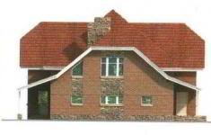 Проект дома 30-11 - 2 фасад