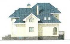 Проект дома 29-11 - 1 фасад