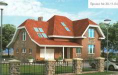 Проект дома 30-11 - главный вид
