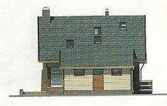 Проект дома 77-12 - 3 фасад