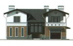 Проект 25-11 - 2 фасад