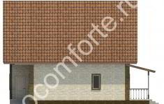 Дом КОМФОРТ - 3 фасад