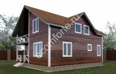 Проект дома ЛОНДОН - 2 вид