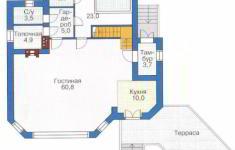 Проект 31-11 - план 1 этажа