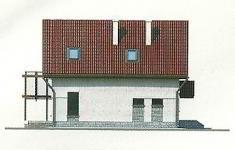 Проект дома 43-12 - 2 фасад