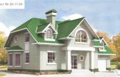Проект дома 26-11 - главный вид