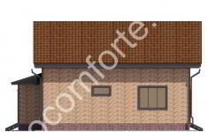 Дом ХУТЫНЬ - 4 фасад