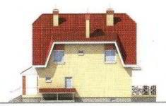 Проект дома 27-11 - 4 фасад